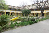 Hospital in Arles, painted by Van Gogh